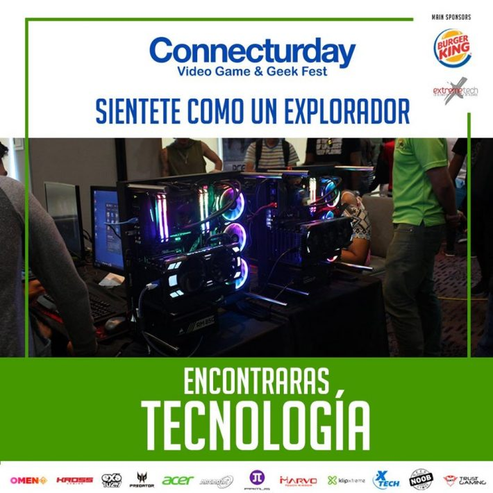 Connecturday: Encontraras tecnología