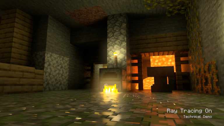Minecraft con Ray Tracing